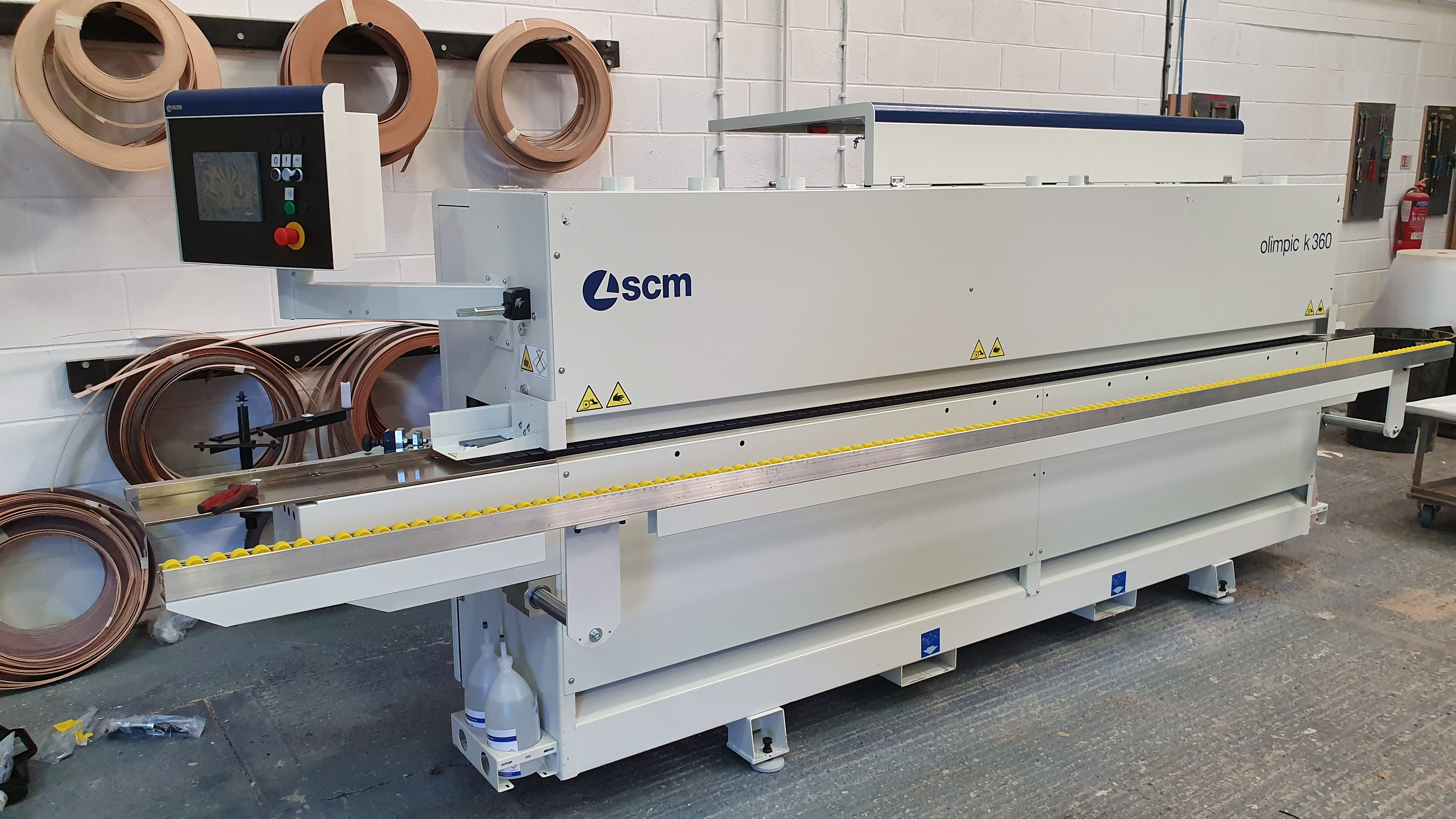Our new SCM edgebander
