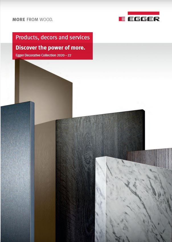 Introducing the new Egger laminate Decorative Collection